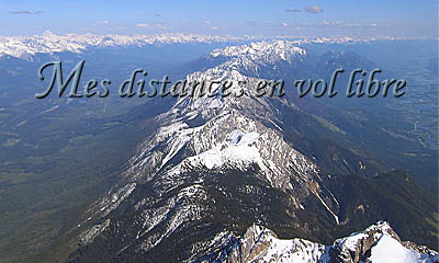 Mes distances en vol libre